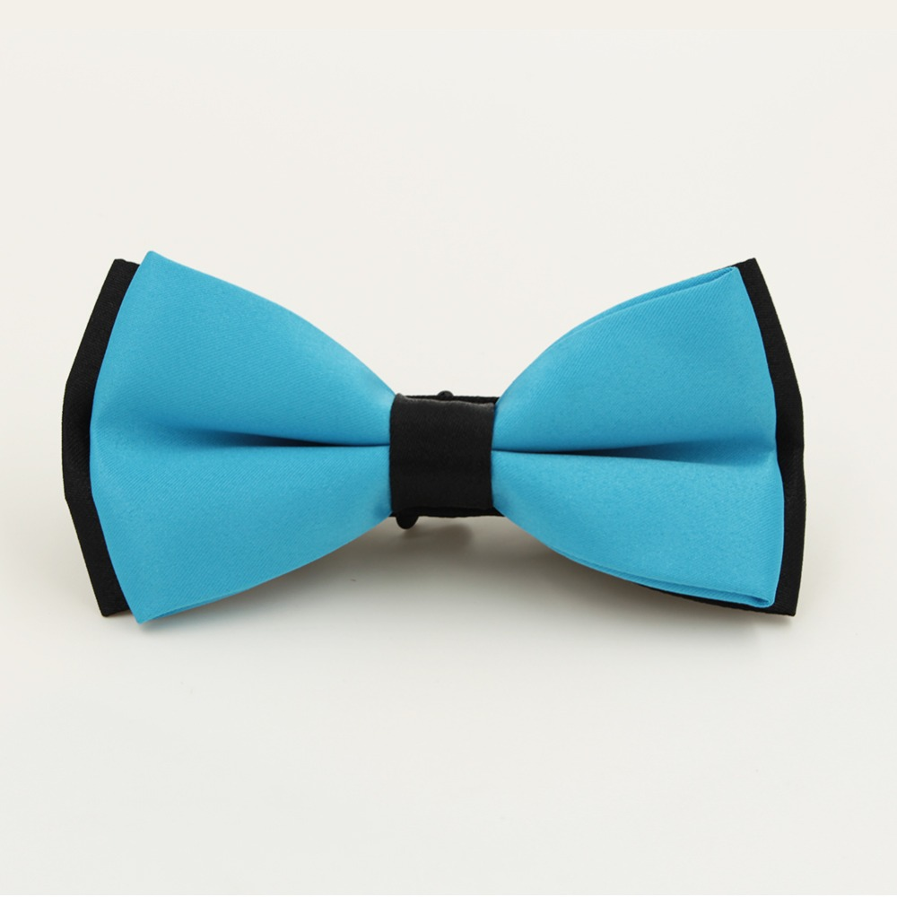 2014 Xmas Mens Fashion Tuxedo Classic Solid Color Adjustable Party Bar Bowtie Red Black White Green Wedding Bow Tie Freeshipping
