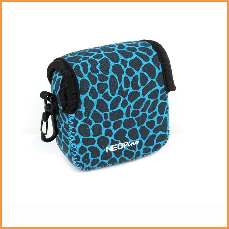 Free Shipping Blue Deer lines Camera Bags Protective Pouch Case for GoPro Hero 3 3+ 4 Camera(China (Mainland))