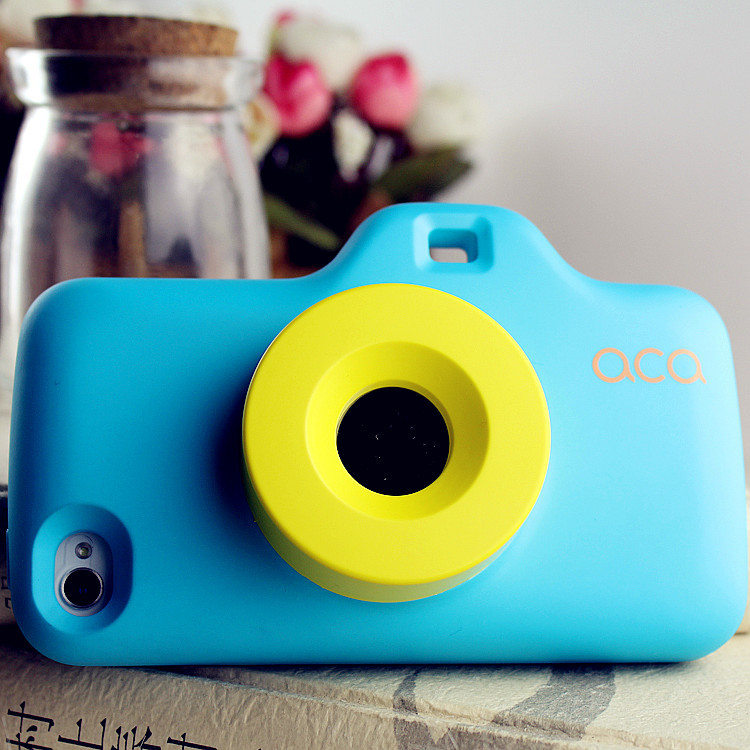 Cool Camera Design Funny Hard Cover Protector Cases For iPhone 5 5s Telephone Accessories+Free shipping(China (Mainland))