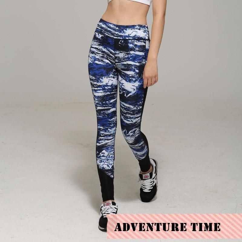 Sport Leggings Women Running / Pants Sports Leggings Elastic Wicking Tights Mallas mujer Fitness Legging Yoga Pants Women  C019