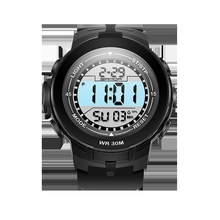Buy SANDA New Brand Sports Men Watches Military Fashion Outdoor Silicone Waterproof LED Digital Watch Women Clock Digital-watch for $9.12 in AliExpress store
