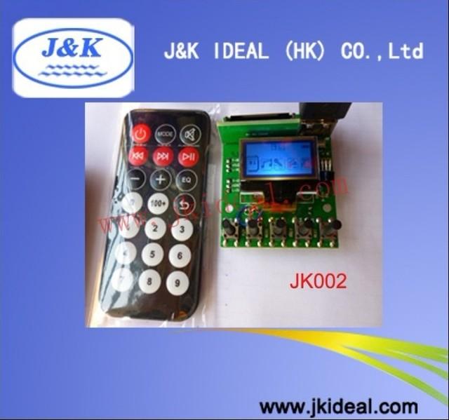 JK002 Recorder USB SD FM MP3 module