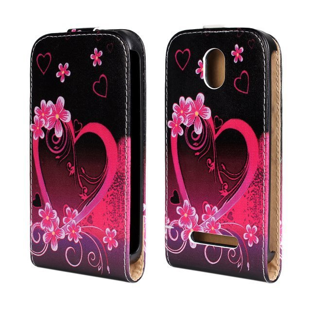 For HTC Desire 500 Flip Cover phone case flower stand leather protective case For HTC Desire 500 506E mobile phone case(China (Mainland))