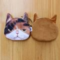 Kids wallet kawaii Cat Face Coin Money Purse Female Women s children Wallet Bag Pouch