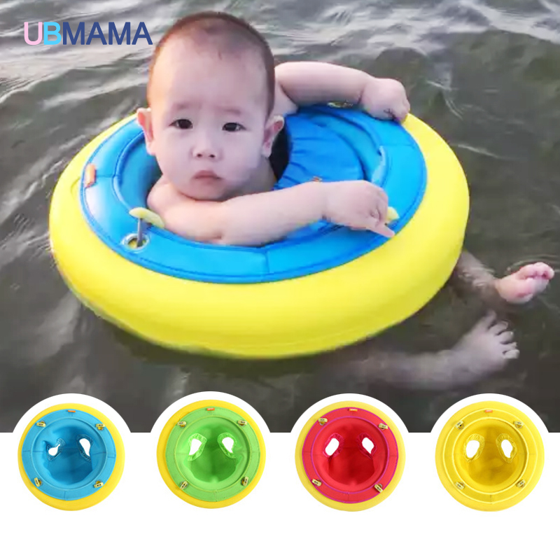 Two use baby baby swim ring free inflatable safety life buoy Children's armpit circle for 1-8 years old baby(China (Mainland))