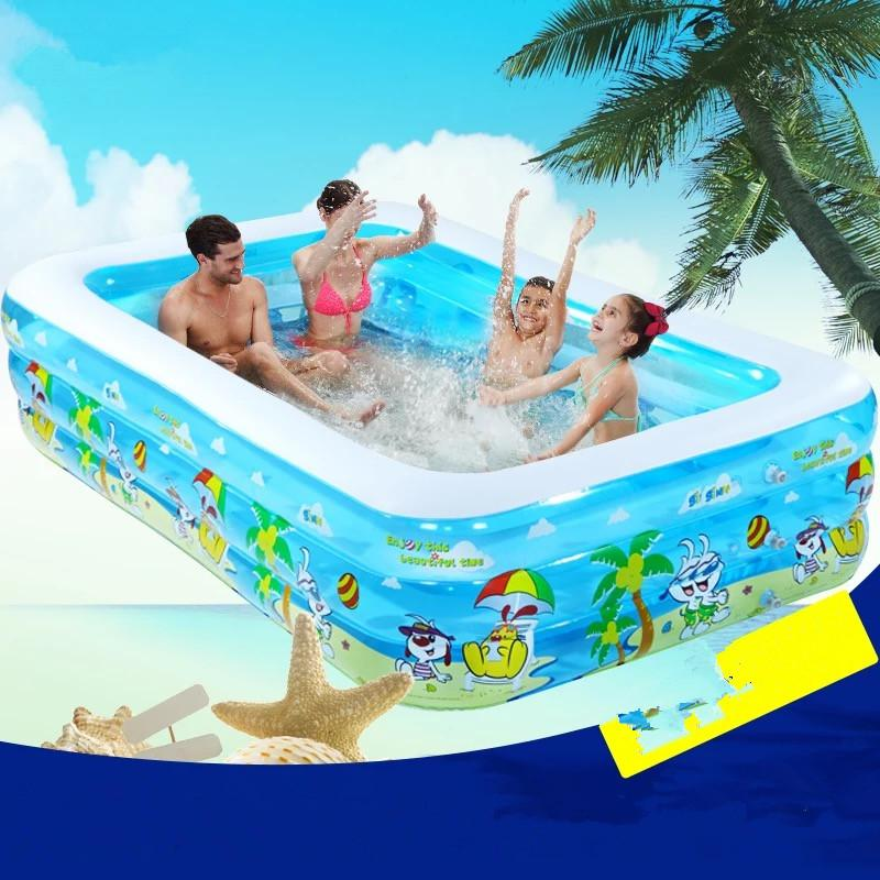 2017 Infant &Children's Inflatable Swimming Pool Large Family Swimming Pools Ocean Ball Pool Adult Bathtub Thickened(China (Mainland))