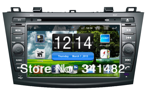Android CAR DVD PLAYER WITH GPS FOR MAZDA 3 2010-2011 Navigation Radio Bluetooth PIP TV Free Maps - Shenzhen TomTop E-commerce Technology Co., Ltd. store
