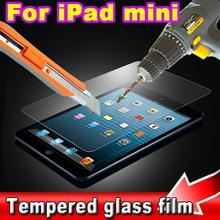 AK High quality 9H 0.3mm Premium Tempered Glass Screen Protector Tempering Protective Transparence Film Guard for iPad Mini 1 2(China (Mainland))