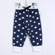 2015 kids summer trousers clothing boys girls summer pants kids horse trousers A0066(China (Mainland))