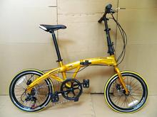 Super awesome 20 inch 7 aluminum alloy brake speed dolphins folding bike folding  bicycle