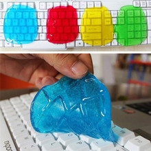 Super Clean Dust Cleaning Glue Slimy Gel Wiper For Keyboard Laptop Car Cleaning Sponge products Car Accessories(China (Mainland))