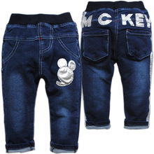 3685 pants trousers spring autumn soft denim casual pants baby boys girls jeans baby not fade