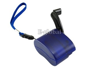 2Pcs/Lot Hand Power Dynamo Hand Crank USB Mobile Phone Cell Phone Emergency Charger Mini Hand Charger  35
