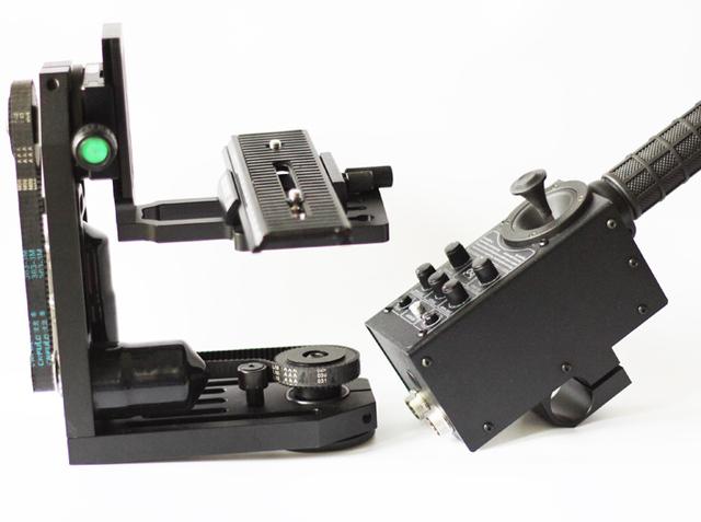Small Size Light Weight Dslr Camera Head Jib Crane Head Of