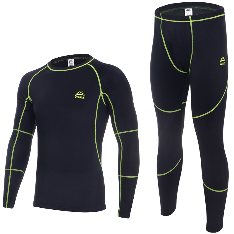 2015 New Mens Winter Thermal Underwear Undershirt Long Johns Thermal Clothing Top and Pants Set for Outdoor Sports Free Shipping(China (Mainland))