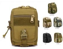 Functional Molle Small Waterproof Military Range Tactical Gear Travel Shoulder Messenger Army Hunting Camouflage Bags Pouch Men