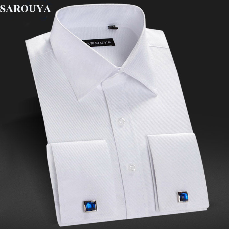 Popular white dress shirt french cuff buy cheap white Buy white dress shirt