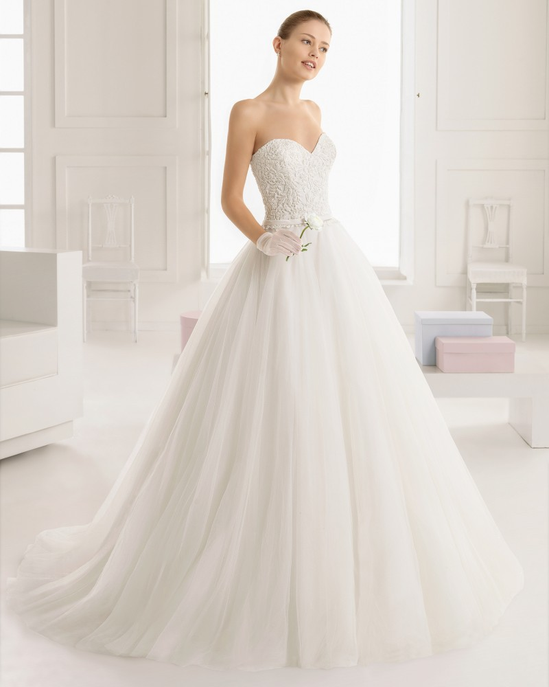 Beading a line wedding dresses 2016 lace sweetheart sexy for Open back bow wedding dress