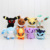 "8pcs/lot Pikachu Plush Toys Umbreon 5"" Eevee Espeon Jolteon Vaporeon Flareon Glaceon Leafeon Plush Toy Soft Stuffed Animals Doll"
