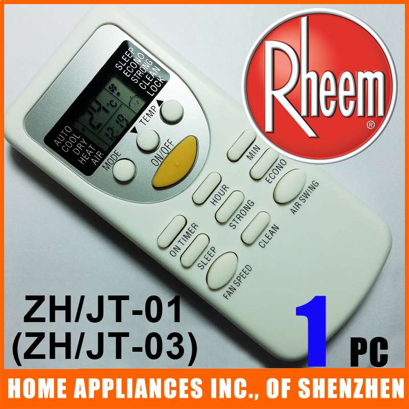 Rheem Chigo Split And Portable Air Conditioner Remote Control ZH /JT-01 ZH /JT-03 Air Conditioning Parts 1PC/lot<br><br>Aliexpress
