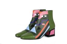 FEDONAS moda marka kadın ayak bileği kar botları sıcak yüksek topuklu bayan ayakkabıları kadın parti düğün pompaları temel hakiki deri çizmeler(China)