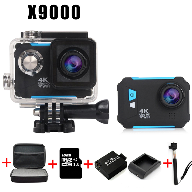 Фотография Diving camera Action Camera 4K WiFi Sport extreme Diving Helmet mini Cam Waterproof go pro camera waterproof Car recorder Mode