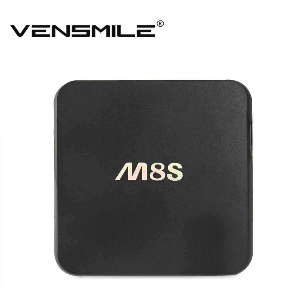 Vensmile M8S Android TV Box 2G/8G  Dual band 2.4G/5G wifi Android 4.4 Amlogic S812 Chip 4K XBMC Full HD Smart tv Media Player m8(China (Mainland))