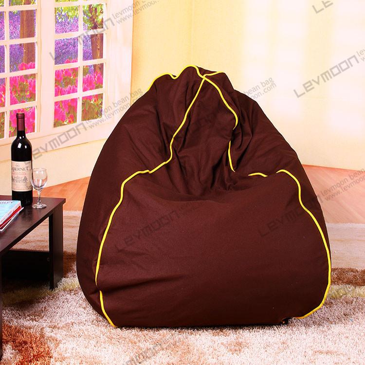 Фотография FREE SHIPPING  square gaming bean bag chair tear drop baseball bean bag chair 100% cotton canvas custom bean bag covers