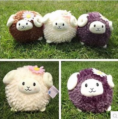 Plush Toy Stuffed Animal Doll animal toy For Girl boys Kid Kawaii Cut plush sheep toys stuffed animals Christmas gifts(China (Mainland))