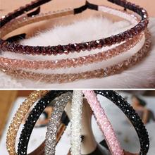 Shining Crystal Fashional Modern Style Headband Hairbands for Girls Headwear  Hair Accessories for Women(China (Mainland))