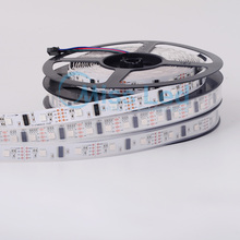 Buy 5m LPD8806 8806 led strip 32leds/m,48leds/m,60 leds/m Waterproof IP30/67 White PCB SMD5050 RGB strip Flexible full color DC5v for $56.87 in AliExpress store