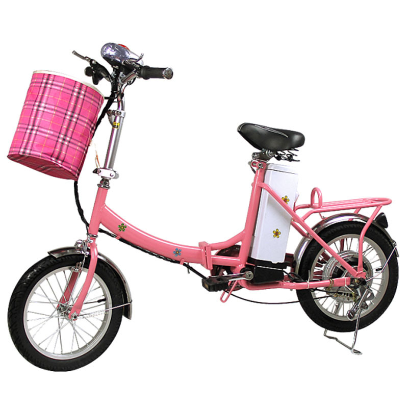 DHL Freeshipping 16 inch high power folding electric bicycle brushless