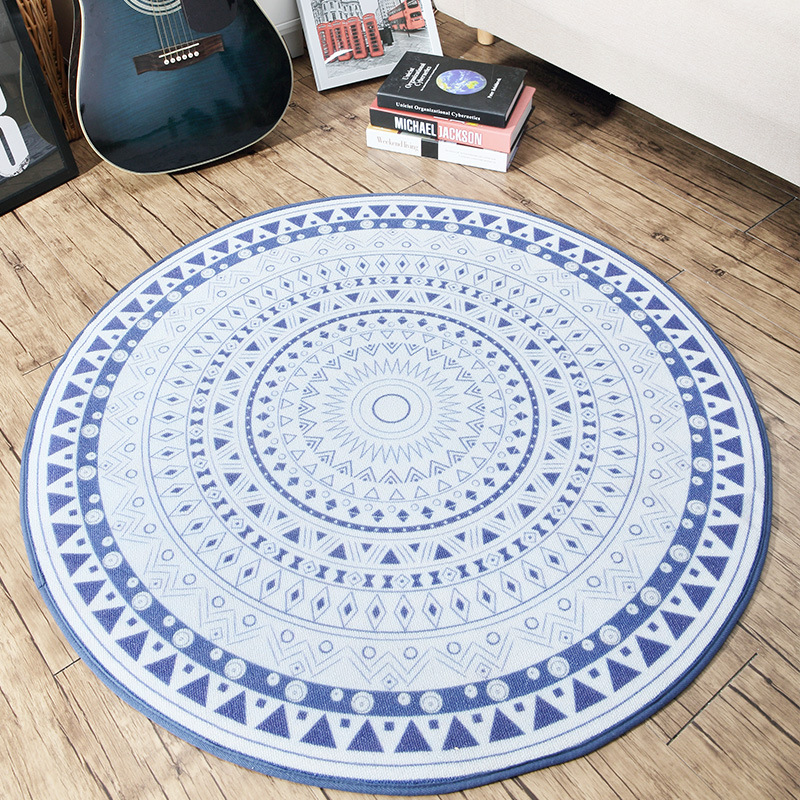 Buy Continental Simple Circular Living Room Coffee Table Mats Carpet Bed