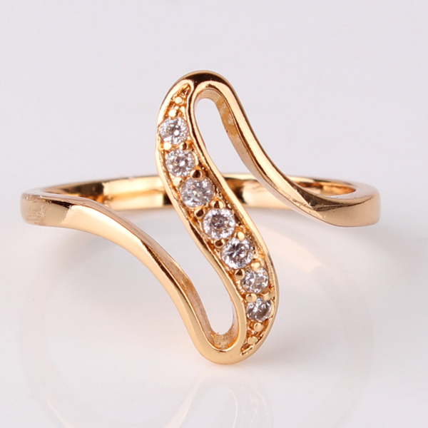Popular cheap wedding rings for newlyweds Gold rings for