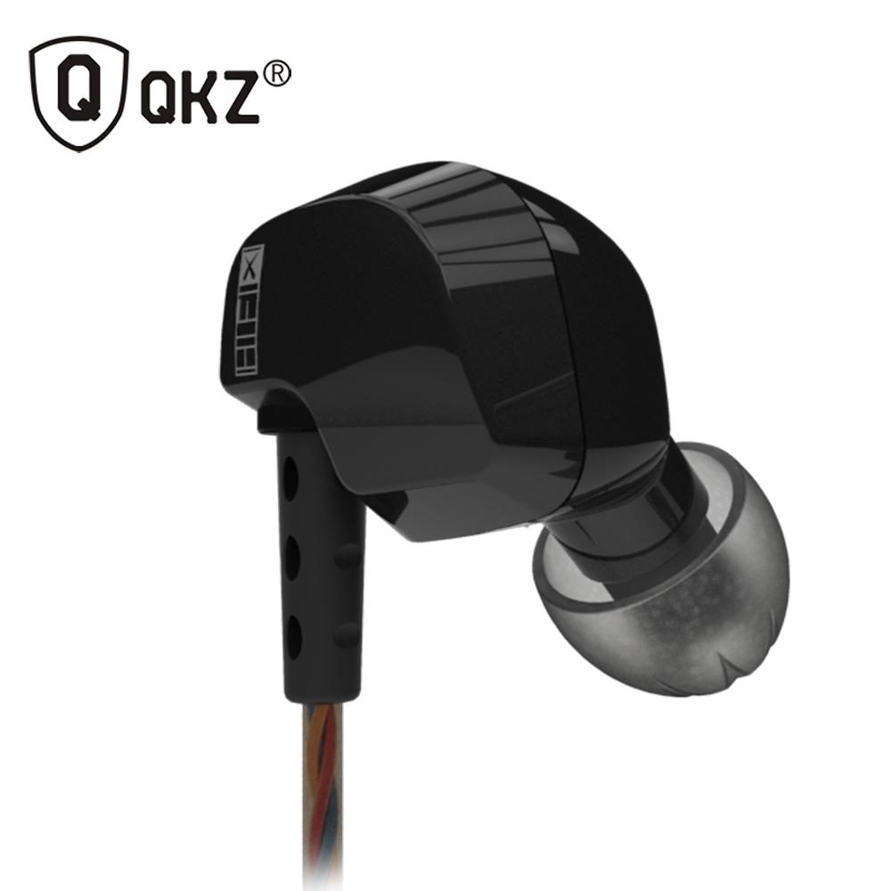 QKZ S12 Earphones Original Brand Super Bass In-Ear Earphone with Mic 3.5mm Hifi fone de ouvido Go Pro Music audifonos