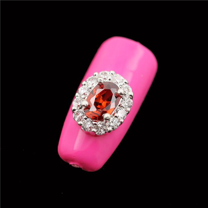 30pcs/lot RG158 korean nail art designs ideas Metal zircons rhinestones new silver wedding Accessories epacket shipping(China (Mainland))