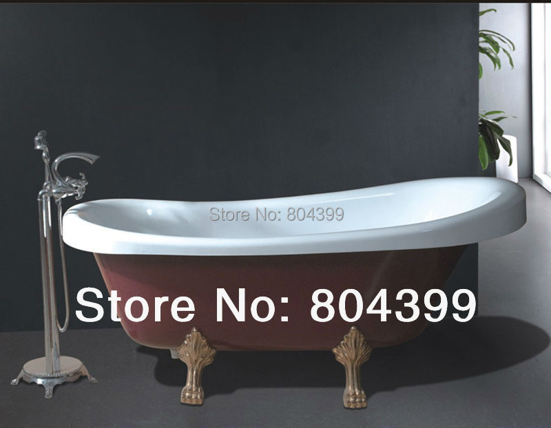 B506 hot sale claw foot bath tubs cheap baths bathtub for Claw foot bath tub for sale