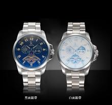 Automático hombres marca de lujo automático reloj de hombre y Waches militares con Hardlex alemán movimiento de japón