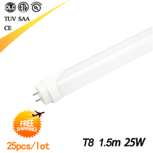 Free shipping 5ft Led Tube t8 1500mm CE and RoHS approved led tube 1.5M(China (Mainland))
