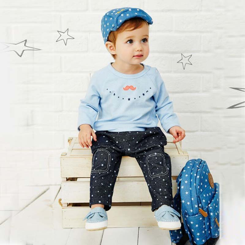 2015 New Autumn Baby Boys Casual Clothing Sets Cotton Fabric Size for 1-6 Years Olds Children Sets Kids Clothing(China (Mainland))