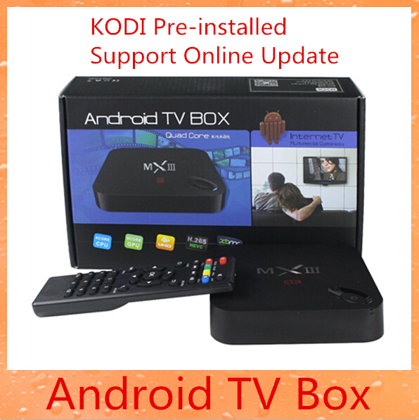 New MXIII Android 4.4 Amlogic S802 Quad-Core MXIII Android TV Box 1GB/8GB MX3 Google Support OTA1 KODI Software & Online Update(China (Mainland))