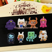 100PCS Adventure Time Cartoon Blackboard Magnetic Stick,Mini Blackbord Magnets,Party Gifts/Favors Office School Supplies Bags(China (Mainland))