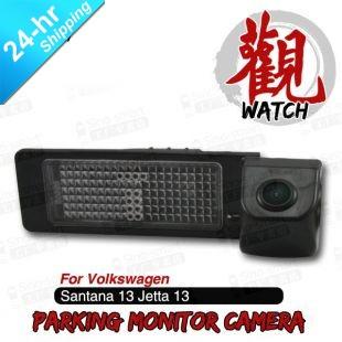 High Quality HD CCD Car Parking Reversing Backup Camera for VW Santana 2013 Jetta 2013 Separable Camera Black(Hong Kong)