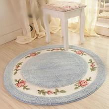 Buy Diameter 70/90cm Flower Floor Mats Round Carpet,Living Room Rug Kitchen Carpet,Bedroom Carpet Floor Mats,tapis pour salon for $40.50 in AliExpress store