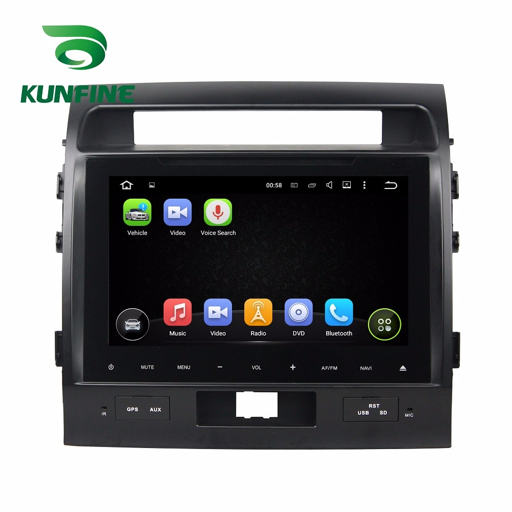 Car DVD GPS Navigation Player Deckless for TOYOTA LAND CRUISER 2012-2015  C
