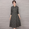 2016 New Japanese College Long sleeved Bowknot Autumn Wear Restoring Ancient Ways Pregnant Women Dress