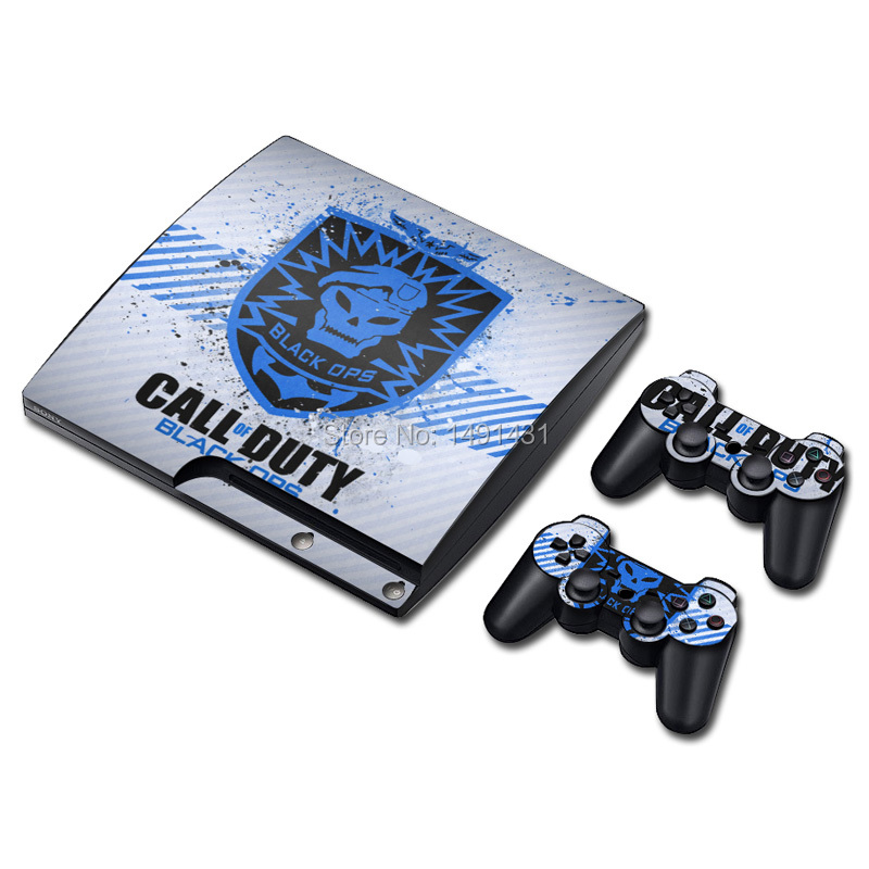 Cool Designs For PS3 skin PVC Protective Skin Cover Sticker For Sony PS3 Games(China (Mainland))