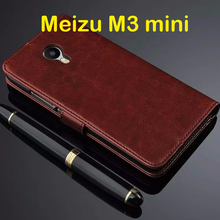 Buy Meizu m3S mini Case 5.0 inch Flip Wallet Genuine Leather Cover Meizu M3S Stand Function Three Card Holder for $5.59 in AliExpress store