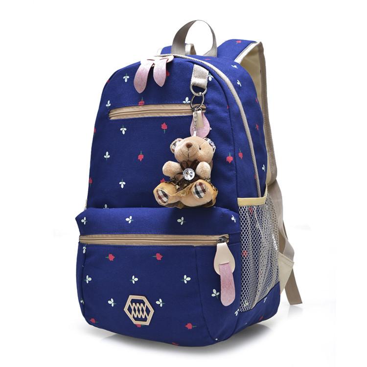 2015 women school bag teenager students school bag for