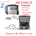 D630 laptop 09 2016V Full Chip MB STAR C4 SD CONNECT WIFI diagnostic tool sd c4